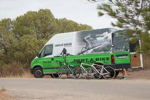 Logistica de Bicicletas Algarve Portugal