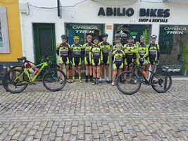 Algarve Bike Challenge and Abilio Bikes Trek Nucleo Sportinguista Vrsa